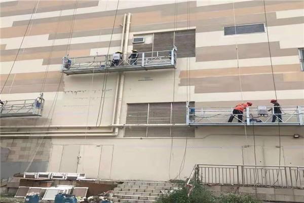 广东省河源市手动吊篮专业租赁安全可靠